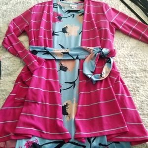 Lularoe Marly dress and Caroline sweater bundle!